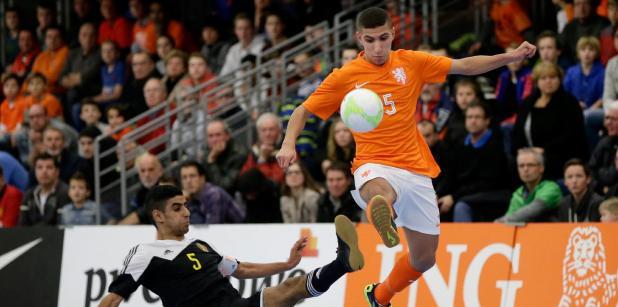 08/04 Selectie Jong Oranje zaal tegen ...