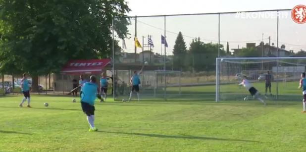 06/07 VIDEO: Onder 19 scoort erop los