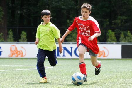 KNVB Voetbaldag voor kinderen met een beperking